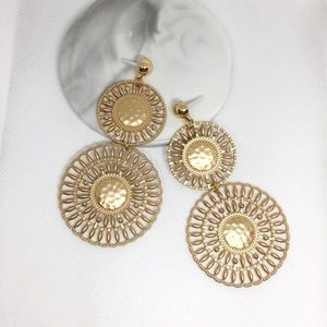 NWT Anthropologie Golden Drop Earrings
